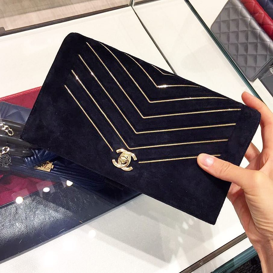 Chanel-Chevron-Mini-Chain-Wallet