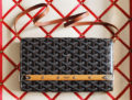 Goyard Monte Carlo Clutch With Strap
