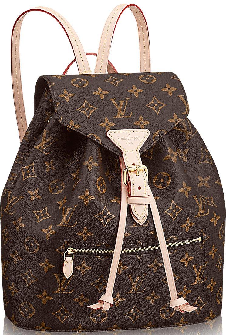 14c79e5b55 Louis Vuitton Montsouris Backpack Gets An Update