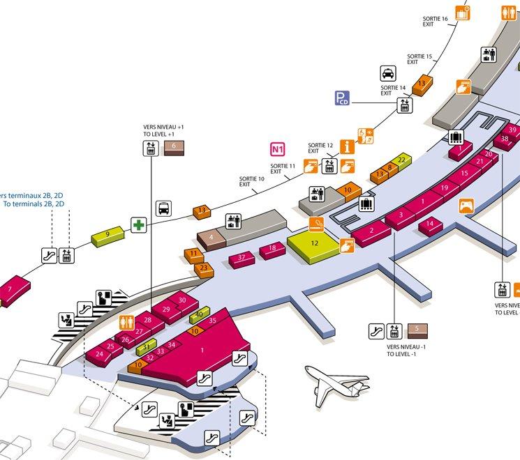 Roissy-Charles-de-Gaulle-Airport-Terminal-2C