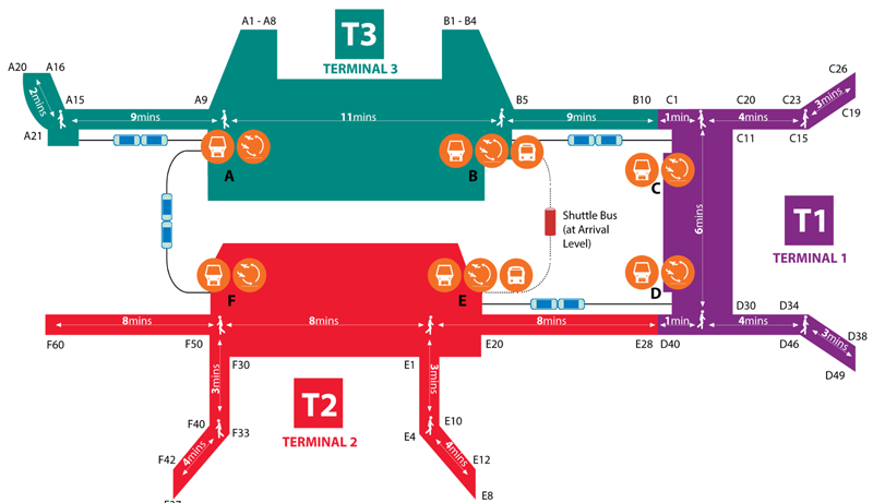 Shopping-at-changi-airport-Overall-map