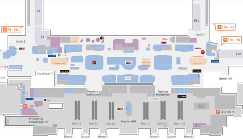 terminal 2 changi map Shopping At Changi Airport Bragmybag terminal 2 changi map