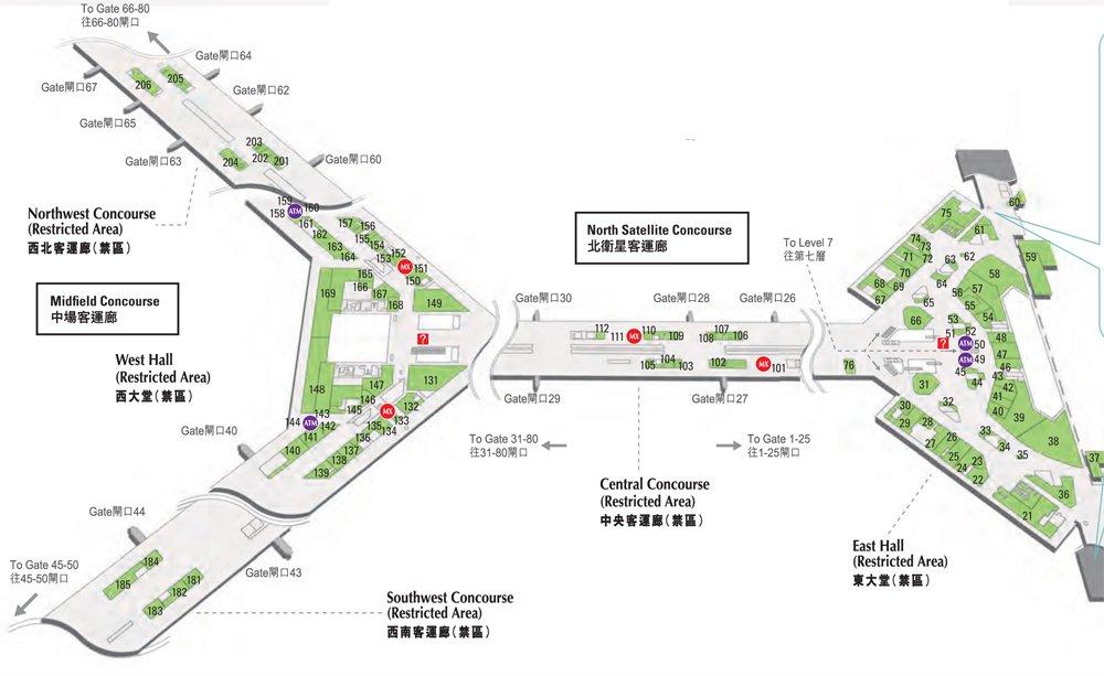 Shopping-at-hongkong-airport-map-t1-l6