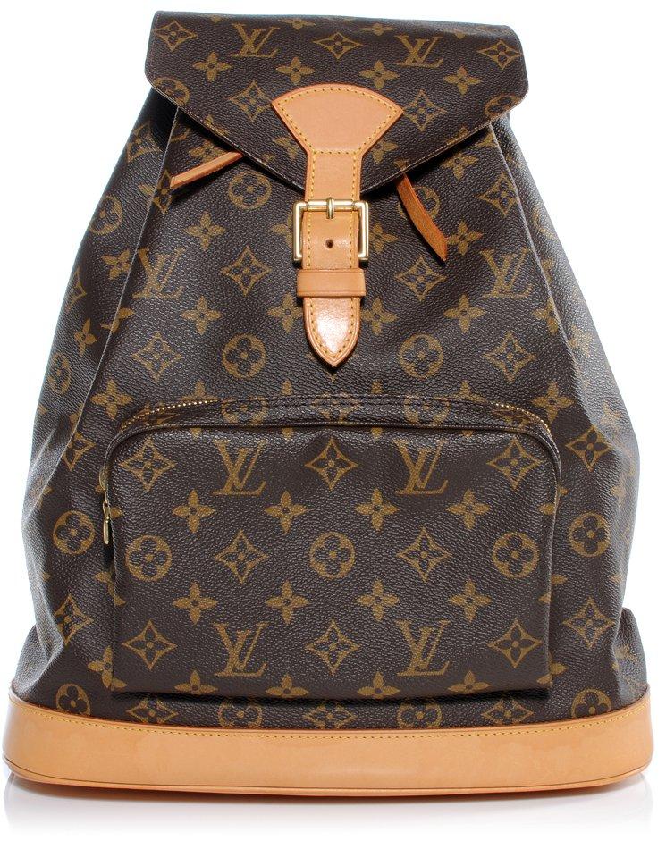638ef49f01d5 Vintage-Louis-Vuitton-Montsouris-Monogram-Backpack