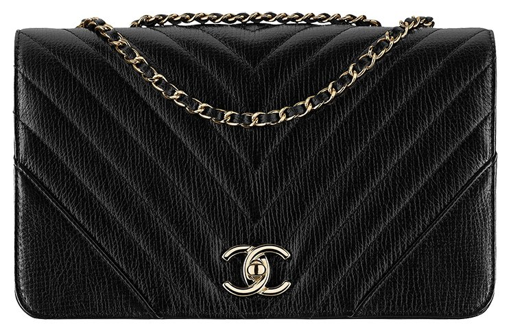 Chanel-Chevron-Statement-Bag