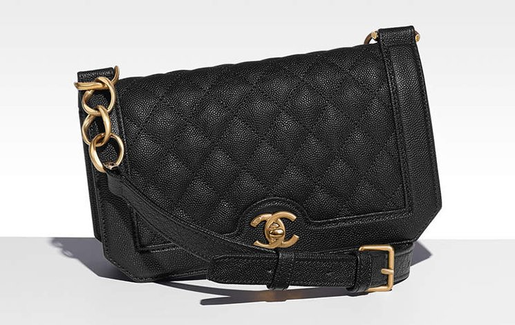 Chanel-Grained-Calfskin-Flap-Bag-2