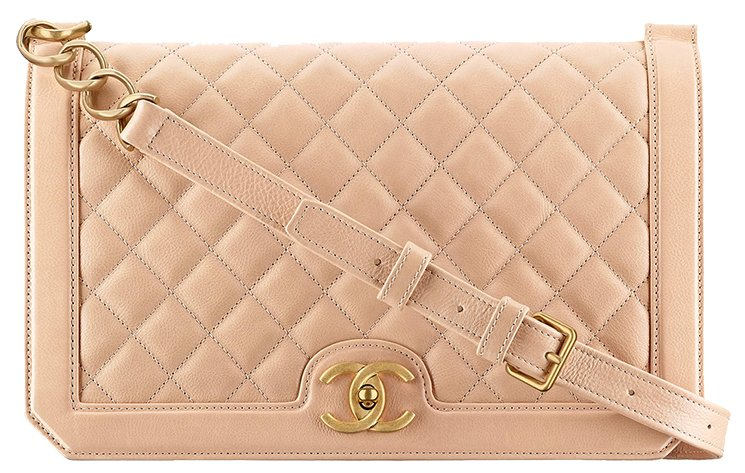 Chanel-Grained-Calfskin-Flap-Bag-5