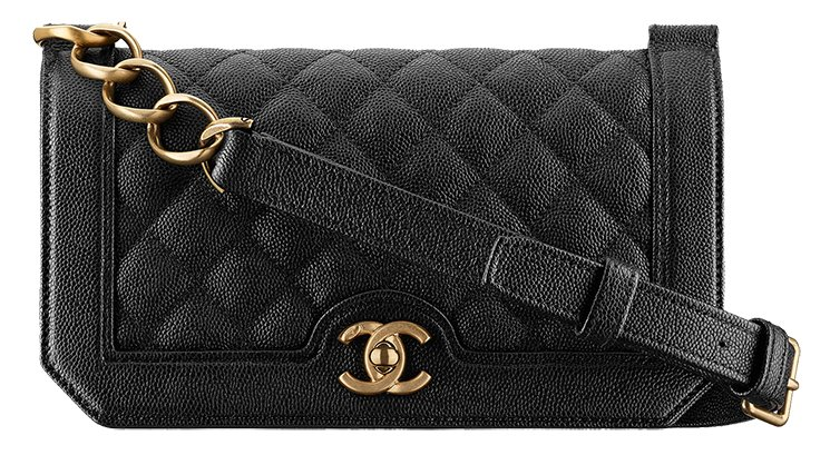 Chanel-Grained-Calfskin-Flap-Bag