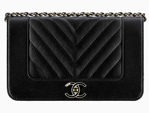 Chanel Mademoiselle Vintage Chevron WOC | Bragmybag