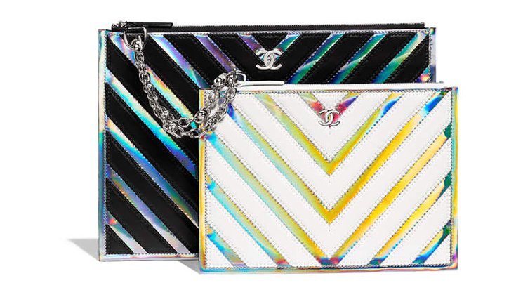 Chanel-Multicolor-Chevron-Double-Pouch-2