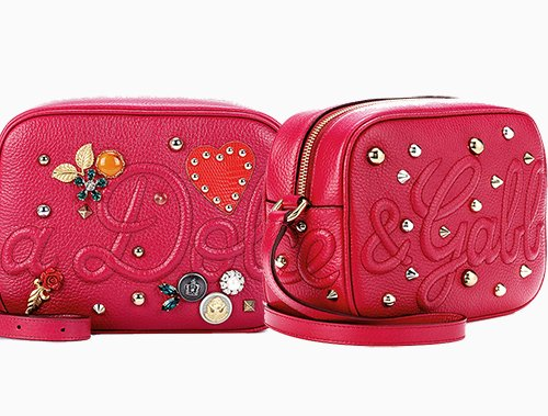 a6e4e2cd015d Dolce   Gabbana Charm Camera Bag