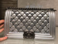 Boy Chanel Triangle Quilted Flap Bag
