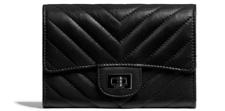 8c653f1b830e Chanel Reissue 2.55 So Black Small Wallets | Bragmybag