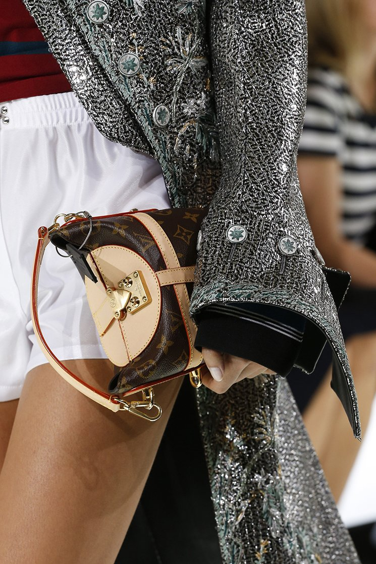 Fashion week Vuitton Louis spring summer runway bag collection for lady