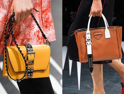 Prada Spring Summer 2018 Runway Bag Collection