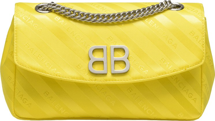 Balenciaga-Chain-Round-Bag-2