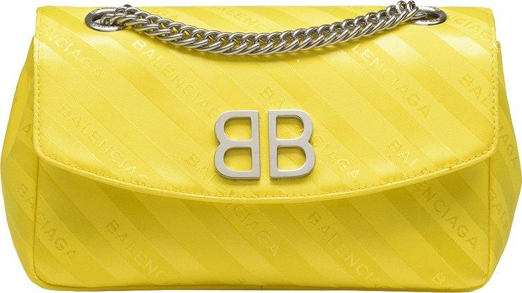 Balenciaga-Chain-Round-Bag-2