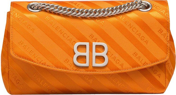 Balenciaga-Chain-Round-Bag
