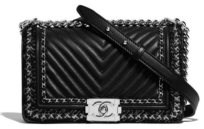 c978ee1da3d Chanel Large Boy Flap Bag A67086 Black
