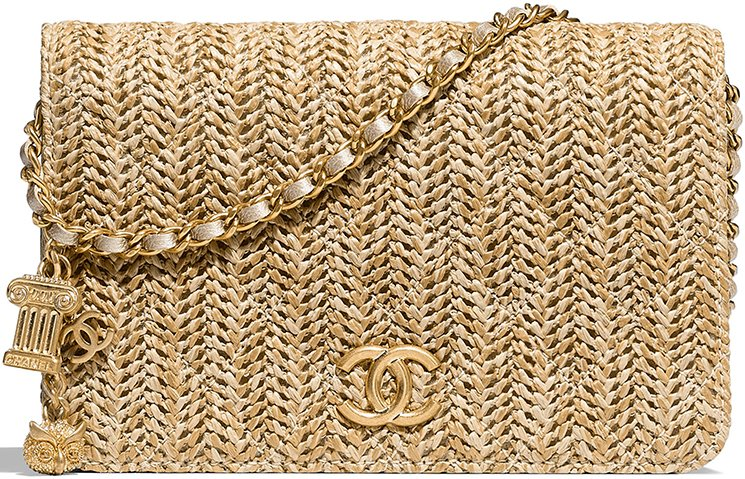 a604b807aa55b0 Chanel Ancient Greek Braided Wallet On Chain | Bragmybag
