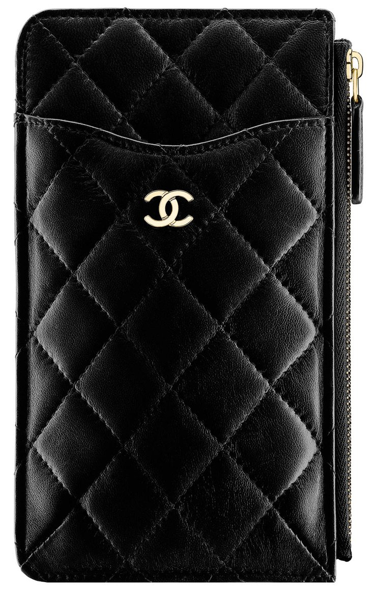 Chanel-Classic-Flat-Wallet-Pouch