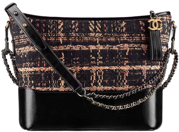 Chanel-Cruise-2017-18-Collection-3. Chanel Medium Tweed Gabrielle Hobo Bag 33cf4124436d1
