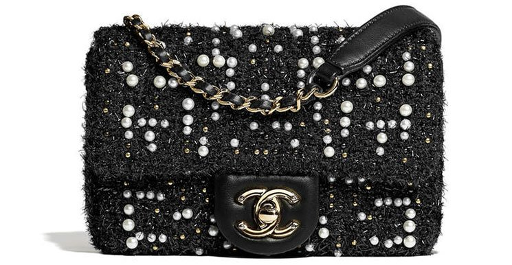 Chanel-Tweed-Cosmos-Pearl-Flap-Bag-2