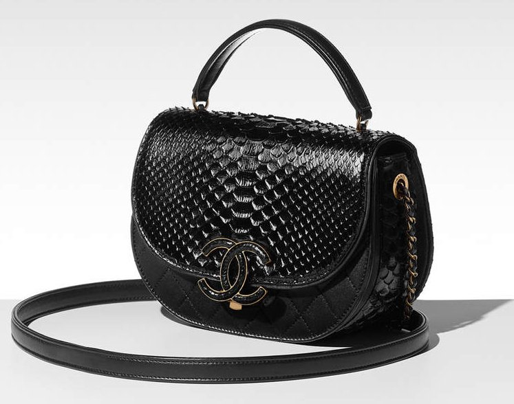 chanel coco curve flap bag bragmybag