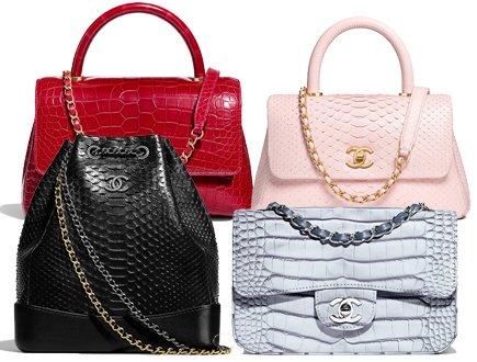 Chanel Cruise 2018 Exotic Bag Collection | Bragmybag