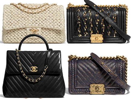 1da5e8698694 Chanel Cruise 2018 Classic And Boy Bag Collection