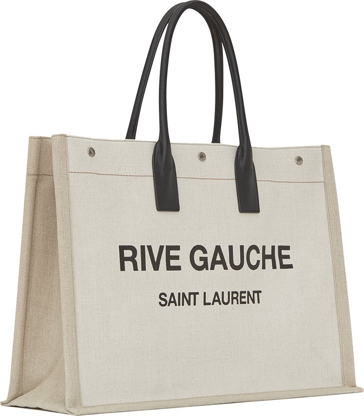 Saint-Laurent-Linen-Rive-Gauche-Bag-5