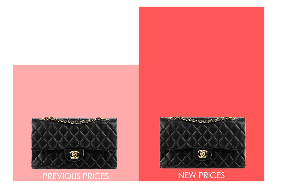 33701caacefa1d Chanel Price Increase Report Nov 2017 Part 2: The New Prices In The ...