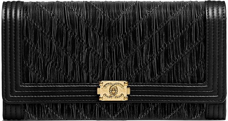 Boy-Chanel-Chevron-Pleated-Flap-Wallet
