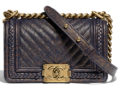 Chanel Chevron Braid Around Bag