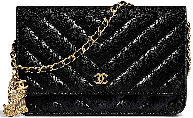 f41b22d064d4 Chanel Chevron Classic Quilted WOC with Ancient Greek Charm – Bragmybag