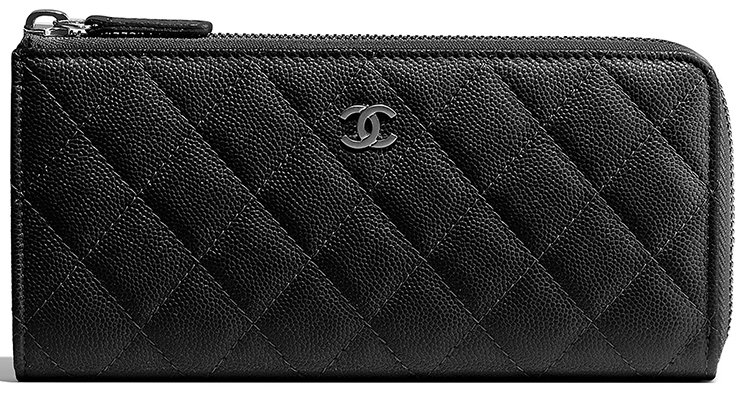 Chanel-Classic-Side-Zipped-Wallet