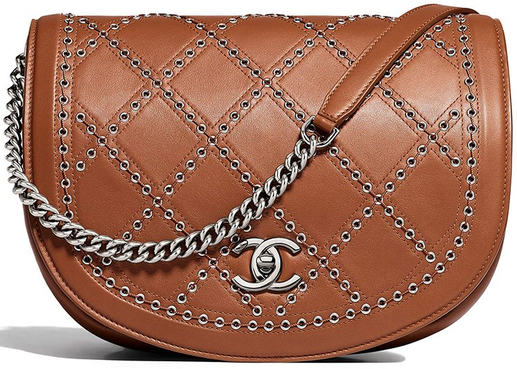 Chanel-Coco-Eyelets-Round-Flap-Bag-2
