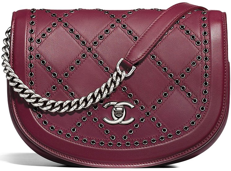 Chanel-Coco-Eyelets-Round-Flap-Bag-3