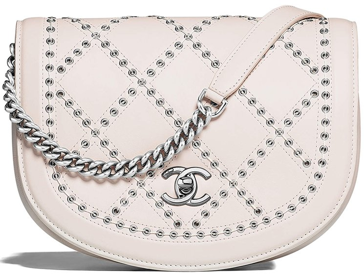 Chanel-Coco-Eyelets-Round-Flap-Bag-4