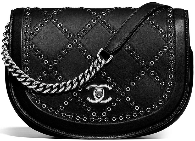 Chanel-Coco-Eyelets-Round-Flap-Bag-5