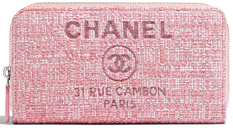 Chanel-Deauville-Wallets