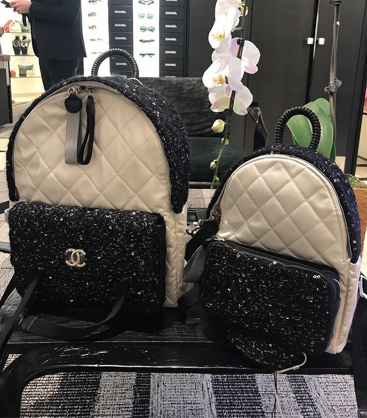 Chanel-Embroidered-Backpacks