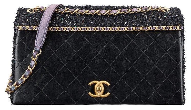 Chanel Tweed Quilted Flap Bag – Bragmybag 52b60a2526ec6