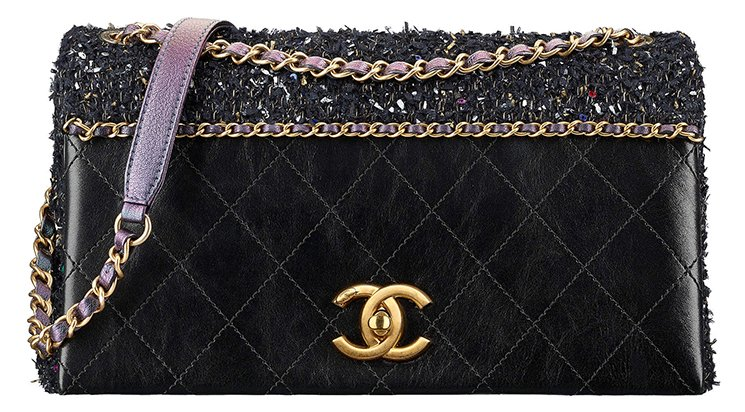 Chanel-Tweed-Quilted-Flap-Bag
