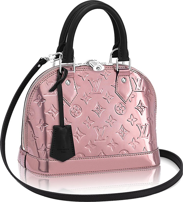 Louis-Vuitton-Alma-Metallic-Bag