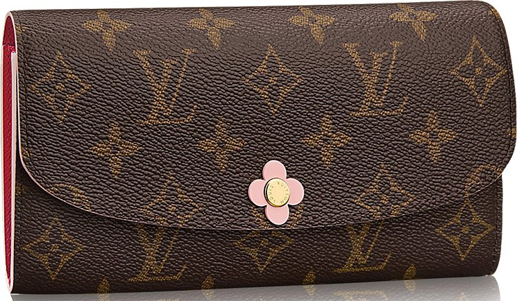 Louis-Vuitton-Monogram-Flower-Emilie-Wallet