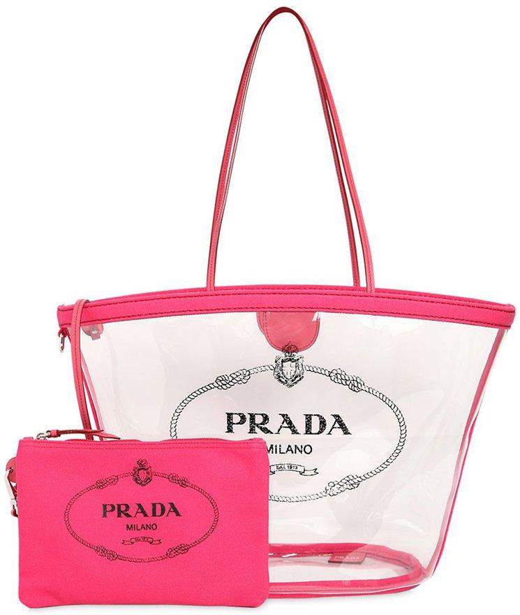 Prada-Logo-PVC-Tote-Bag