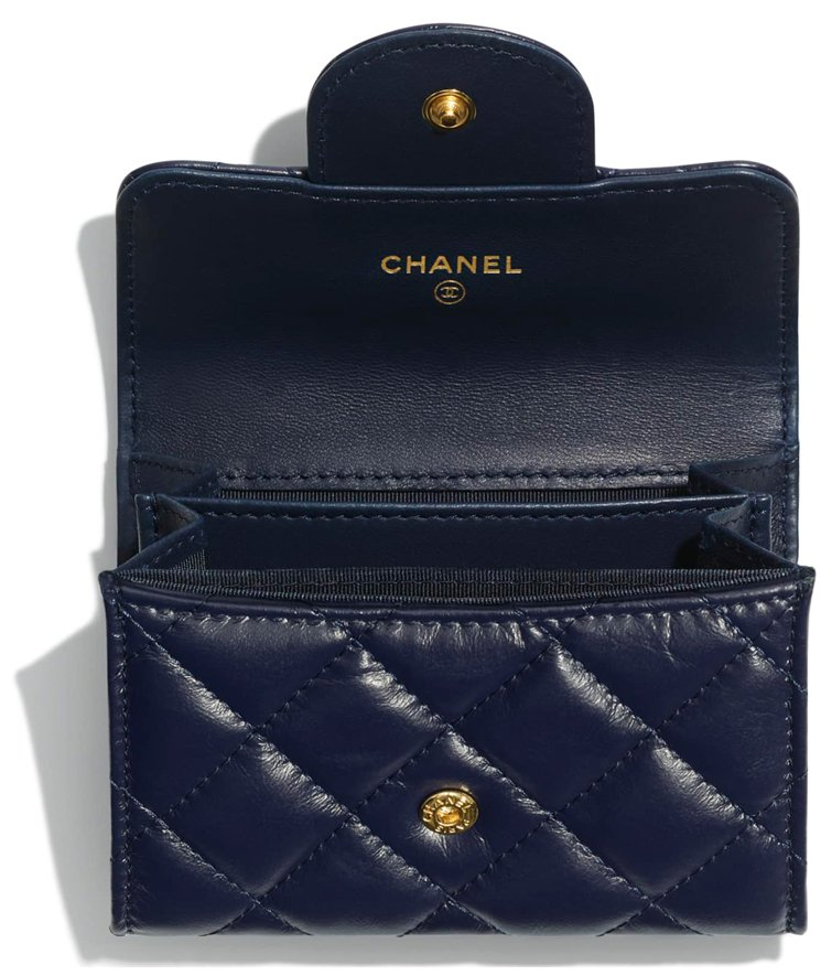 chanel reissue flap coin purse interior