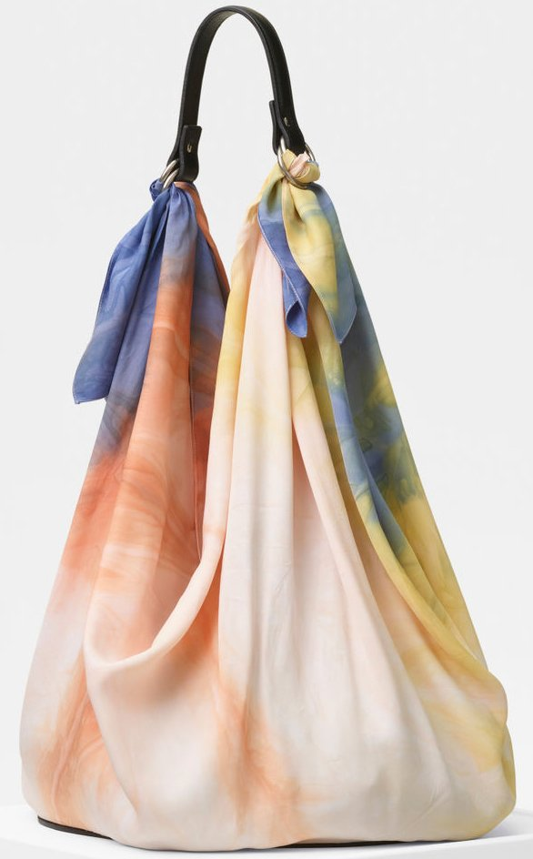 Celine-Silk-Scarf-Bag