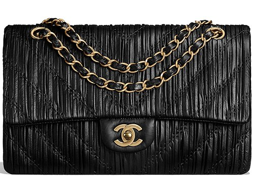 Chanel Chevron Stitched Classic Flap Bag – Bragmybag 4311c7dc2a951